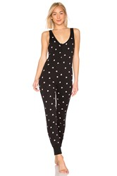Wildfox Couture Falling Hearts Onesie Black
