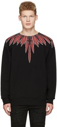 Marcelo Burlon County Of Milan Black Teodoro Pullover