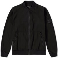 Stone Island Shadow Project Jersey R 3L Zip Bomber Black