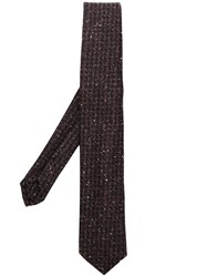 Dell'oglio Shimmery Tie Pink And Purple