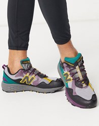 New Balance Running Trail Crag Trainers In Grey