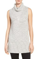 Nic Zoe Women's Hazy Sleeveless Turtleneck Tunic Heather Grey