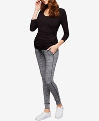 A Pea In The Pod Maternity Jogger Pants Grey