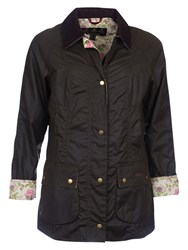 Barbour Monteviot Waxed Jacket Olive