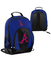 Forever Collectibles Atlanta Braves Prime Time Backpack Blue