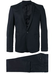 Les Hommes Single Breasted Suit Black