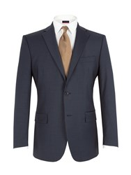 Pierre Cardin Stripe Notch Lapel Jacket Navy