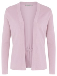 Kaliko Curved Waist Seam Cardigan Light Pink