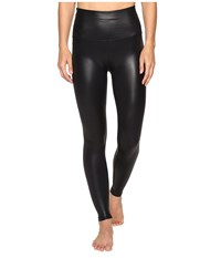 Beyond Yoga Gloss Over High Waist Leggings Black Gloss Women's Casual Pants