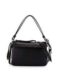 Prism 24 Leather Shoulder Bag Black Marc By Marc Jacobs