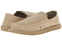 Sanuk Pick Pocket Tan Men's Slip On Shoes