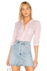 Frank And Eileen Barry Button Down Pink