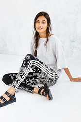 Adidas Originals Paisley Legging Black And White