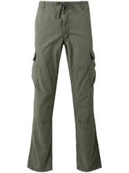Woolrich Cargo Trousers Green