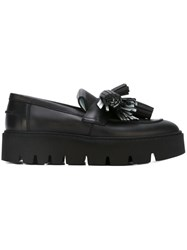 Maison Martin Margiela Mm6 Tassel Detail Loafers Black