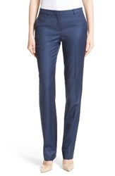 Boss Women's Tamea 7 Stretch Wool Straight Leg Trousers