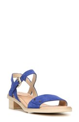 Dr. Scholl's Women's Wynne Strappy Sandal Sailor Blue Suede