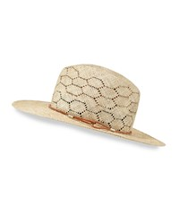 Rag And Bone Rag And Bone Straw Wide Brim Sun Hat Natural Size Small