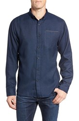 The North Face Men's Thermo Water Repellent Twill Shirt Urban Navy