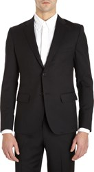 Band Of Outsiders Two Button Sport Jacket Black
