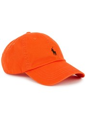 Polo Ralph Lauren Orange Cotton Twill Cap
