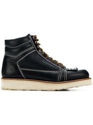 J.W.Anderson Jw Anderson Hiking Boots Blue