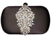 Badgley Mischka Aurora Black Clutch Handbags