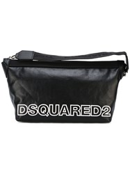 Dsquared2 Two Tone Logo Wash Bag Black