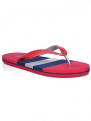 Polo Ralph Lauren Red Whitlebury Flip Flop Sandals