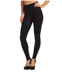 Wolford Velvet 100 Leg Support Leggings Black Women's Clothing