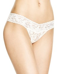 Hanky Panky Thong Bride Low Rise 491041 Ivory