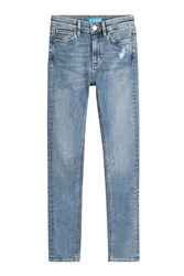 Mih Jeans High Waisted Skinny Blue