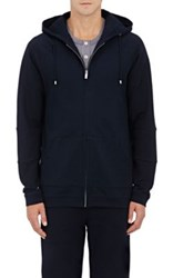 Hamilton And Hare Men's Cotton Blend Hoodie Navy