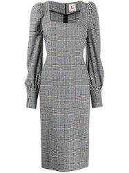 L'autre Chose Checked Fitted Dress 60