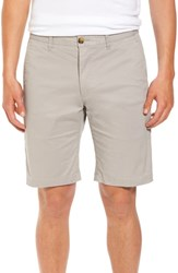 7 Diamonds Slim Fit Brushed Twill Shorts Putty