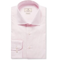 Hackett Pink Mayfair Slim Fit Cotton Poplin Shirt