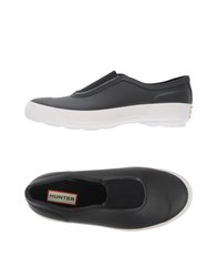 Hunter Footwear Low Tops And Trainers Women Black