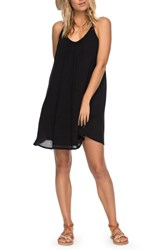 Roxy Great Intentions Trapeze Dress Anthracite