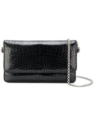 Judith Leiber Couture Crystal Encrusted Evening Bag Black