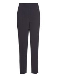 Raey Cropped Slim Fit Crepe Trousers