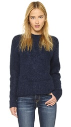 Baldwin Denim The Madison Sweater Midnight