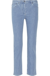 The Row Norland Mid Rise Straight Leg Jeans