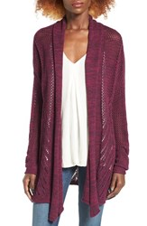 Roxy Women's Take Stock Open Cardigan