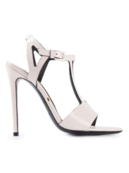 Gianmarco Lorenzi Stiletto Heel Sandals Nude And Neutrals