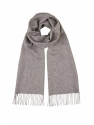 Johnstons Of Elgin Cashmere Scarf Grey