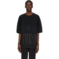 Undercover Black Long Panel Sweater