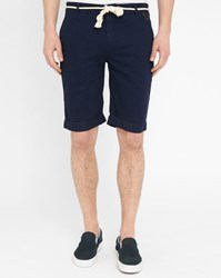 Eleven Paris Navy Chuck Bermuda Shorts