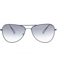 Isabel Marant Matt Aviator Sunglasses For Oliver Peoples Blue