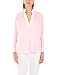 Marc Cain Cross Back Blouse Pink