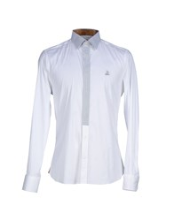 Alviero Martini 1A Classe Shirts Shirts Men White